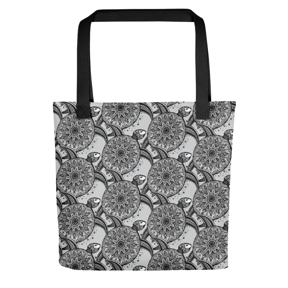 Ornamental Sea Turtles Tote Bag