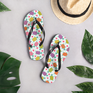 Cute Sea Turtle Flip-Flops
