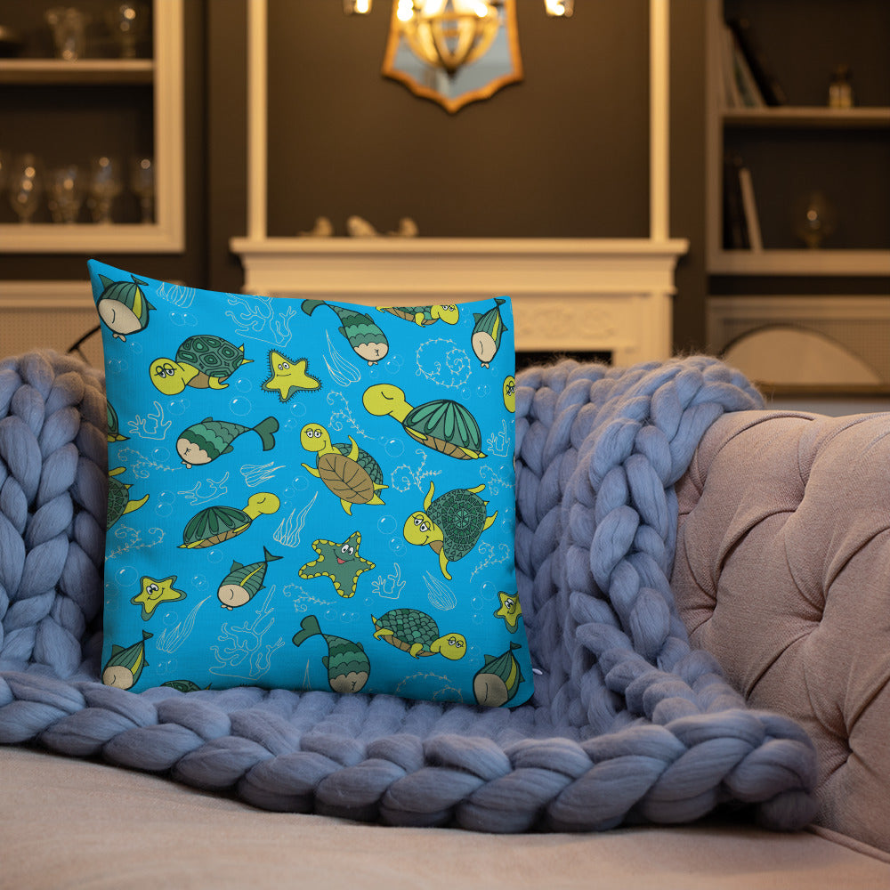 Turtley Awesome Premium Pillow