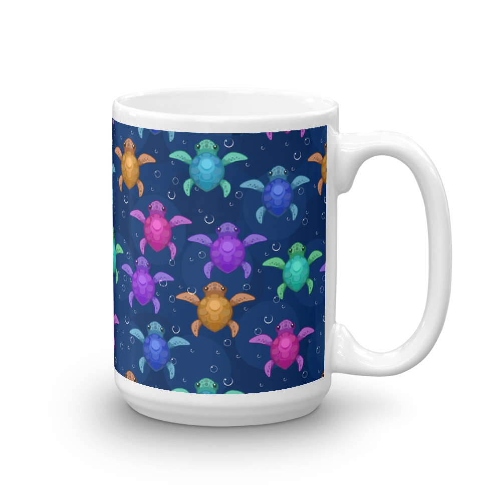 Cute Baby Sea Turtles Mug