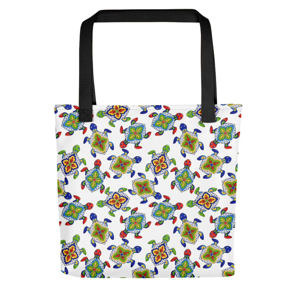 Mexican Sea Turtles Tote Bag