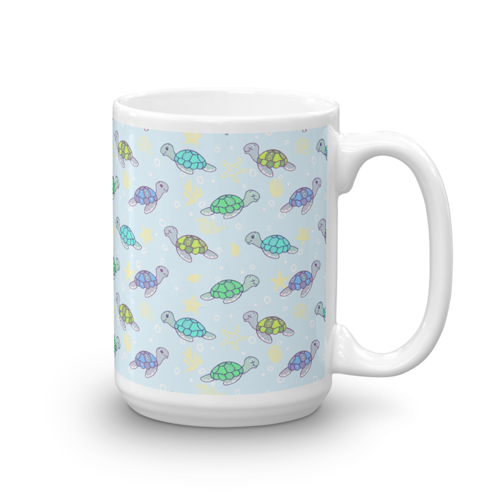 Cute Sea Turtles Mug