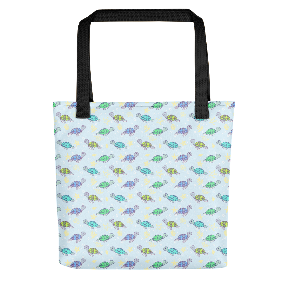 Cute Sea Turtles Tote Bag