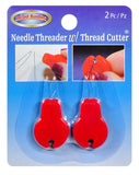 Needle Threader and Thread Cutter