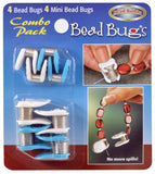 Bead Bugs Combo Plastic Topped Metal Bead stopper
