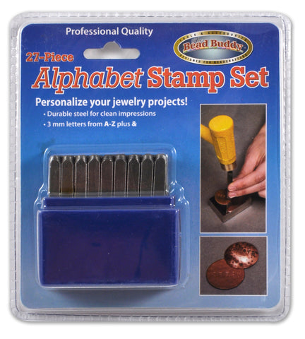 27 Piece Alphabet Stamp Set