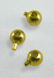 8 Pieces Gold Crimp Loks