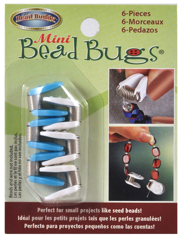 Mini Bead Bugs  6 pack