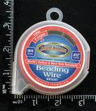 "7 Strand Beading Wire, .012"" Bright"