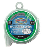 49 Strand Beading Wire, 15ft .024""