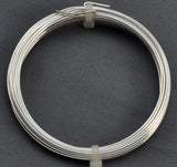 20 Gauge 99.9% Pure Silver Plated German Style Craft Wire