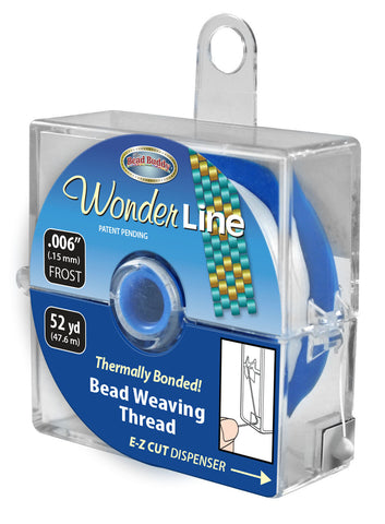 "Wonder Line Bead Weaving Thread, .006"" 52 yd."