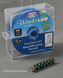 "Wonder Line Bead Weaving Thread, .008"" 52 yd."
