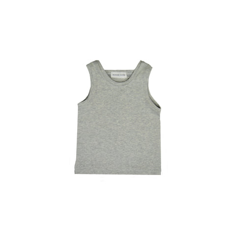 GREY MARL TANK TOP