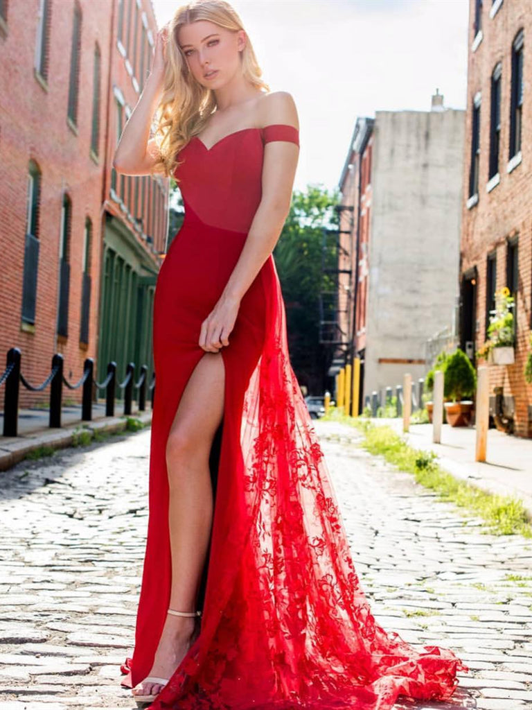 lace red homecoming dresses