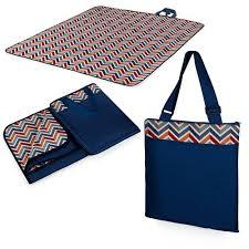 Oniva - A Picnic Time Brand Vista Outdoor Picnic Blanket Tote, Vibe Collection