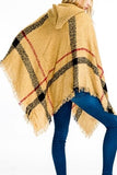 Hooded Ruana Poncho