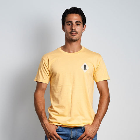 Ekzo - Men'S Patch Pina Yellow Sleeve Shirt