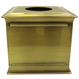 Brass Tissue Box