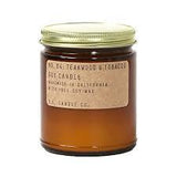 Teakwood & Tobacc Soy Candle - Standard 7.2 Oz