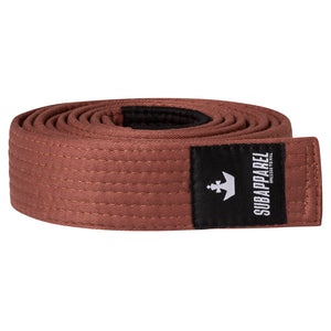 BJJ BELT (BROWN) - Sub Apparel