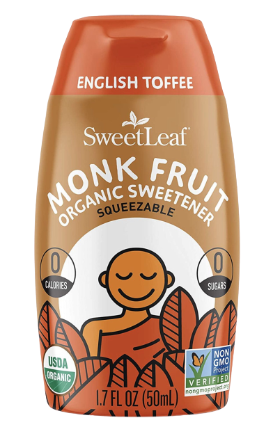 English Toffee Monk Fruit Sweetener