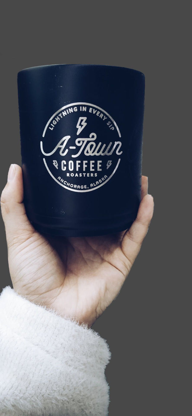 10oz Double wall stainless steal Mug - A-Town Coffee