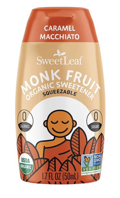 Caramel Macchiato Monk Fruit Sweetener