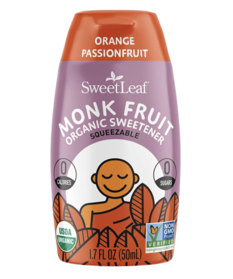 Orange Passionfruit Monk Fruit Sweetener