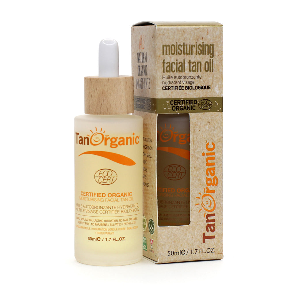 Tan Organic Facial Self Tanning Oil 50ml