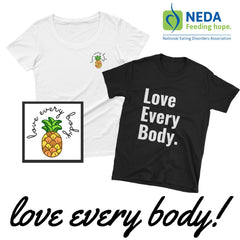 Body Positive T-Shirt - NEDA Collaboration