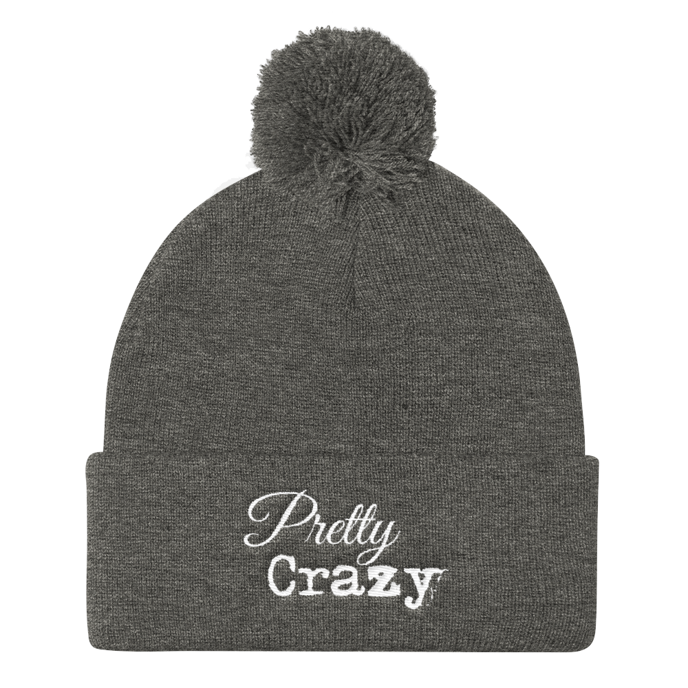 Pretty Crazy Logo Knit Hat - Pretty Crazy Co.