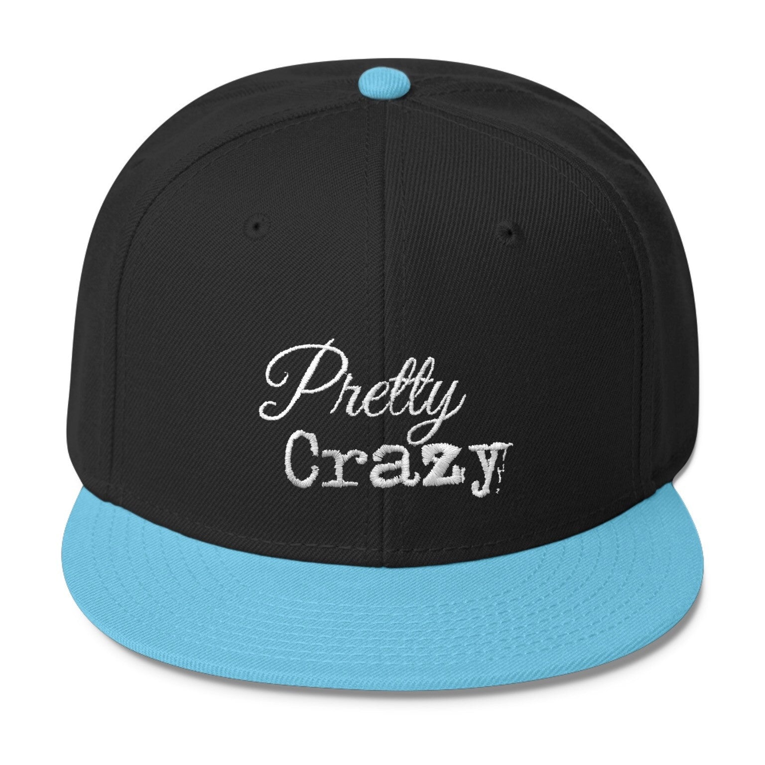 Pretty Crazy Logo Snapback Cap - Pretty Crazy Co.