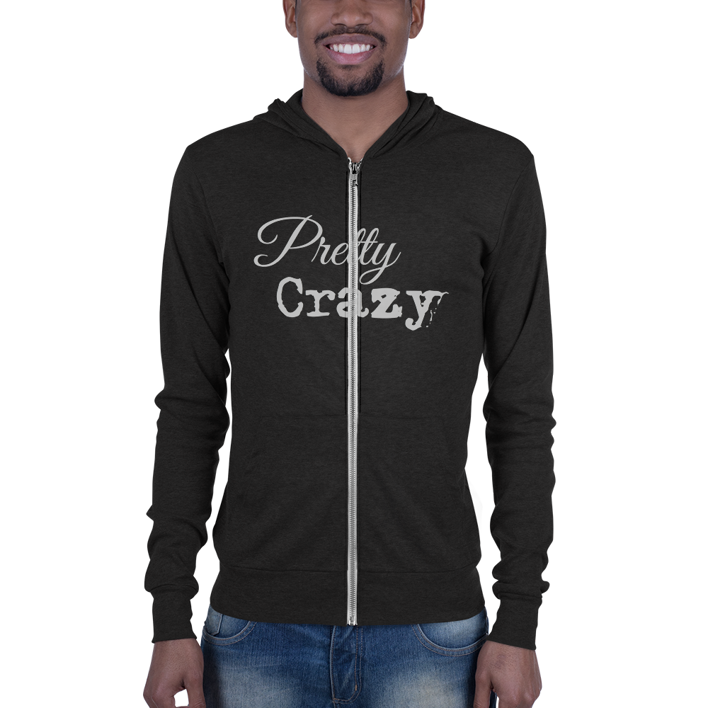 Vintage Slim-Fit Pretty Crazy Co. Tri-blend hoodie - Pretty Crazy Co.