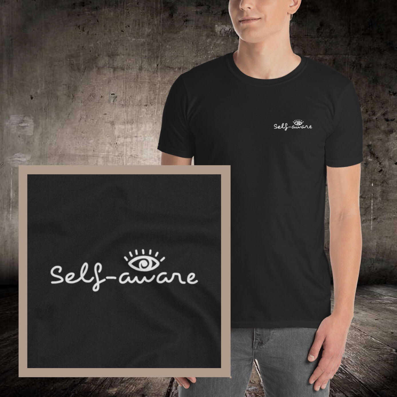 Self-Awareness Short-Sleeve T-Shirt - Pretty Crazy Co.