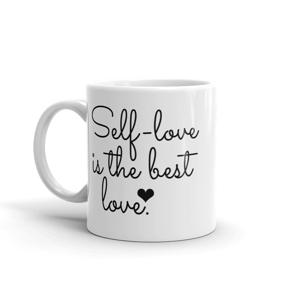 Self-Love Is The Best Love - Awareness Ceramic Mug - Pretty Crazy Co.