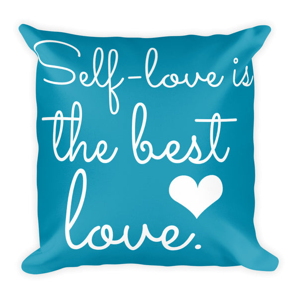 Self-Love Is The Best Love Comfort Pillow - Pretty Crazy Co.