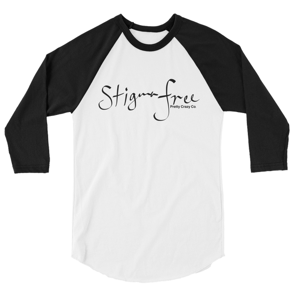 Stigma Free Baseball T-shirt - Pretty Crazy Co.