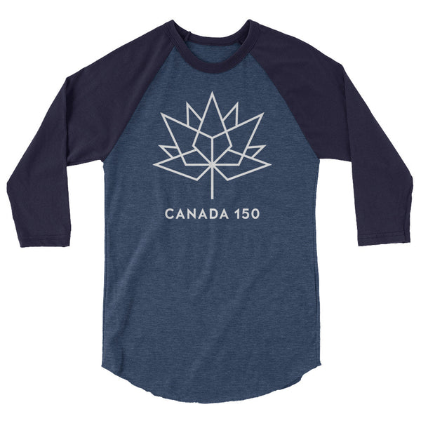 Canada 150™ Logo Classic 3/4 Sleeve Shirt - Pretty Crazy Co.