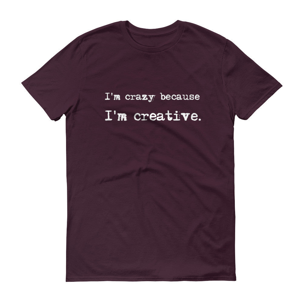 "Break The Stigmas ""I'm Creative"" Unisex T-Shirt - Pretty Crazy Co."