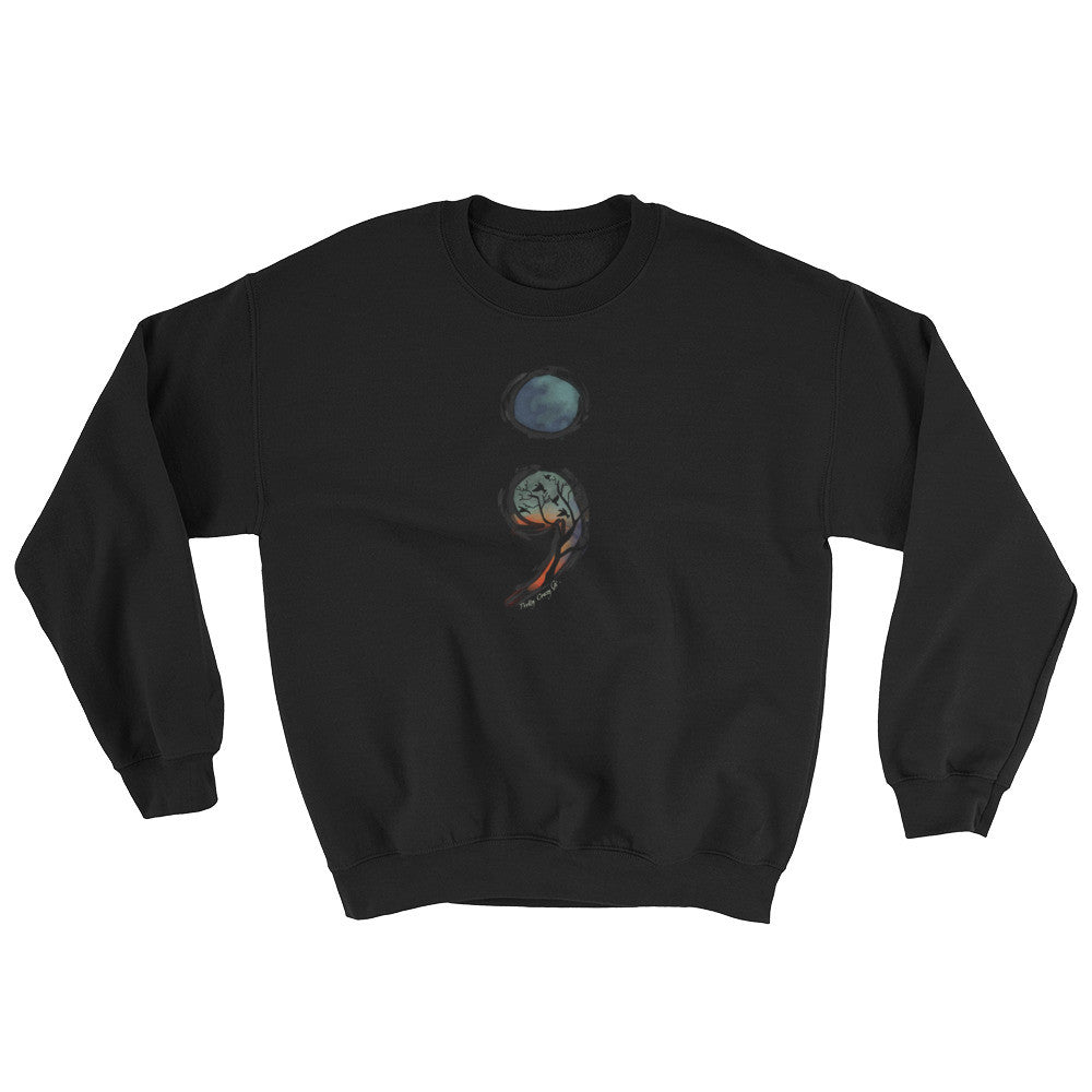 Semicolon Awareness Unisex Sweatshirt - Pretty Crazy Co.