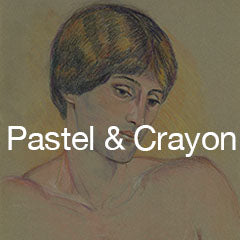 Works on Paper: Pastel and Crayon