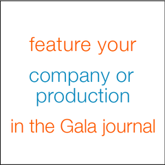 Feature your company of production in the Gala journal