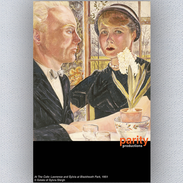 Sylvia Sleigh Poster - At the Cafe: Lawrence and Sylvia at Blackheath Park