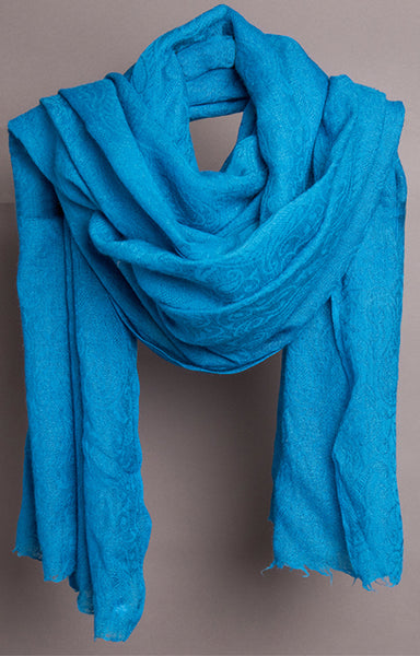 Pashmina in Blue