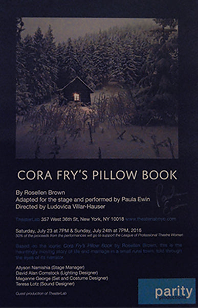 "Parity Productions' Exclusive ""Cora Fry's Pillow Book"" Poster (Signed)"
