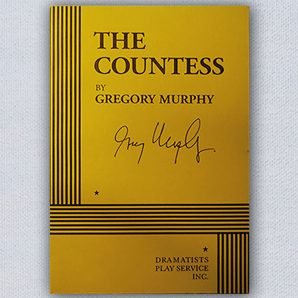 Signed The Countess Script by Gregory Murphy