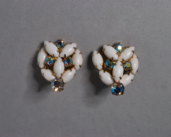 Vintage style clip-on earrings
