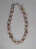Buddha glass bead necklace ($25 Value)