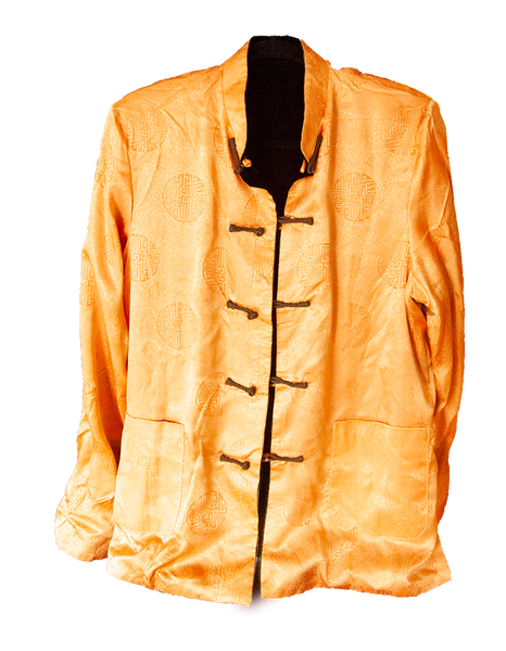 Carole Fraser Reversible Velvet Jacket in Black and Gold